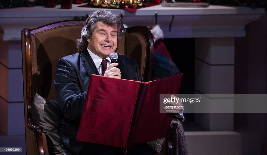 Andy Borg attends the taping of the TV show 'Heiligabend mit Carmen Nebel' on November 27 2014 in Munich Germany