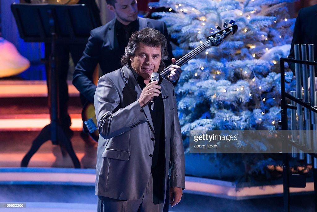 Andy Borg attends the TV show 'Die schönsten Weihnachtshits' on December 4 2014 in Munich Germany