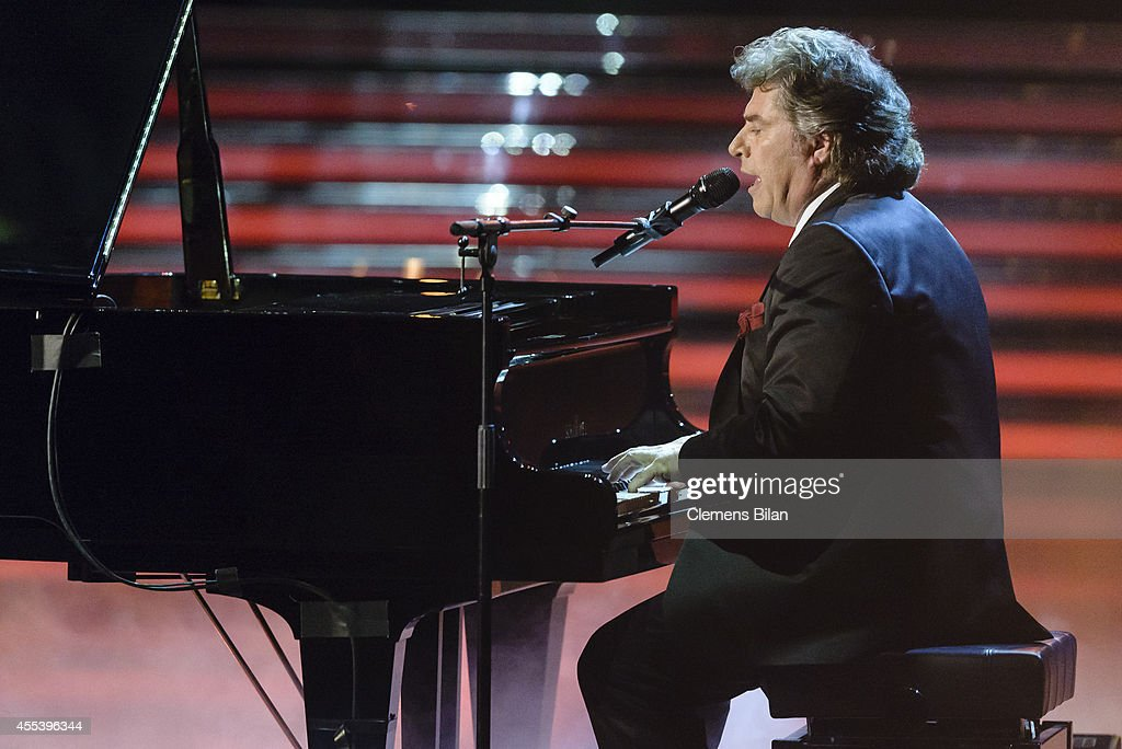Andy Borg performs at the 'Willkommen bei Carmen Nebel' show at Velodrom on September 13 2014 in Berlin Germany