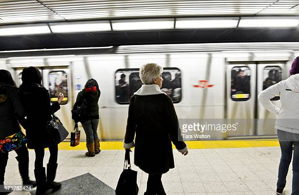 Andy Byford and TTC Chair Karen Stintz launch a new rider charter designed to make the system more accountable Thursday February 28 at the Yonge and...