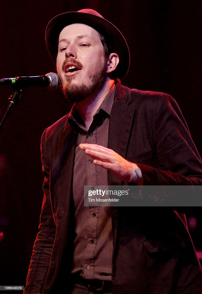 Andy Cabic of Vetiver performs during The Last Waltz Tribute Concert at The Warfield on November 24, 2012 in San Francisco, California.