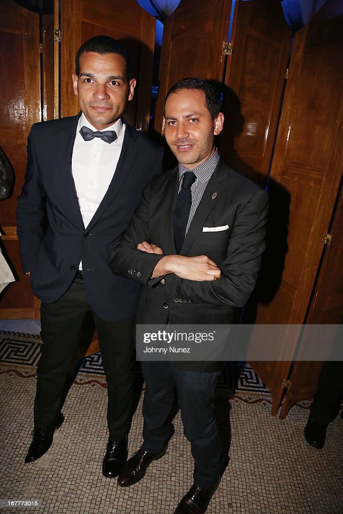 Andy Checo and Gabriel Rivera-Barraza attend the 67th Anniversary Jose Limon Dance Foundation Gala at Capitale on April 29, 2013 in New York City.