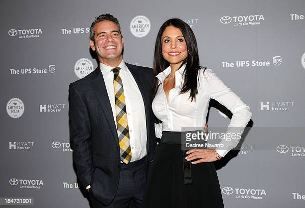 Andy Cohen and Bethenny Frankel attend the 2nd annual American Made Awards at Vanderbilt Hall at Grand Central Terminal on October 15 2013 in New...