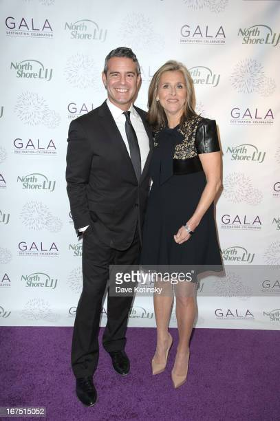 Andy Cohen and Meredith Vieira attends the 2013 North ShoreLIJ Health System Gala at the Intrepid SeaAirSpace Museum on April 25 2013 in New York City
