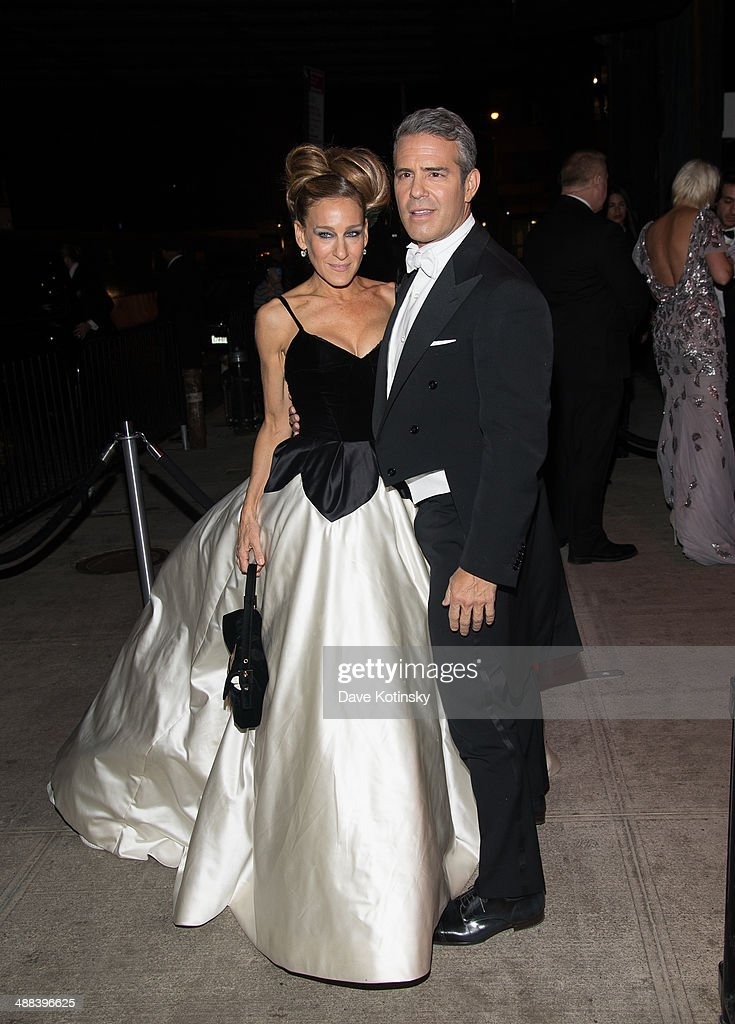 Andy Cohen and Sarah Jessica Parker attends the 'Charles James: Beyond Fashion' Costume Institute Gala After Party>> at the The Standard Hotel on May 5, 2014 in New York City.
