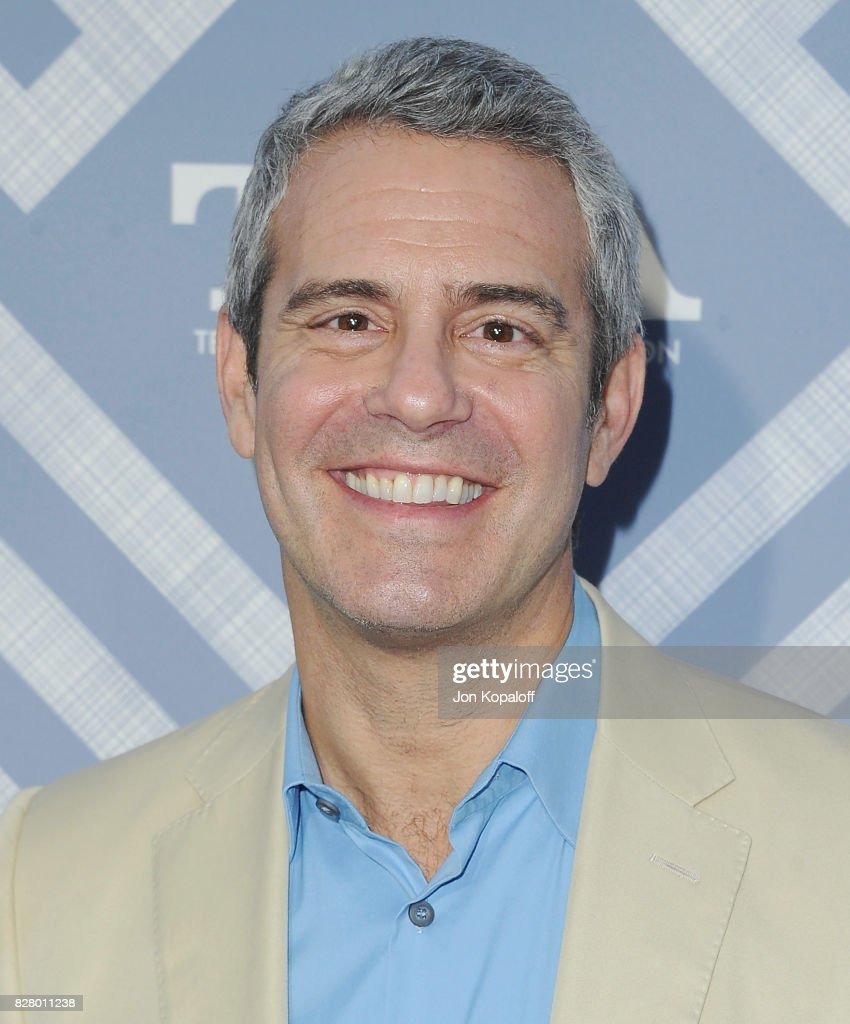 Andy Cohen arrives at the 2017 Fox Summer TCA Tour at the Soho House on August 8, 2017 in West Hollywood, California.