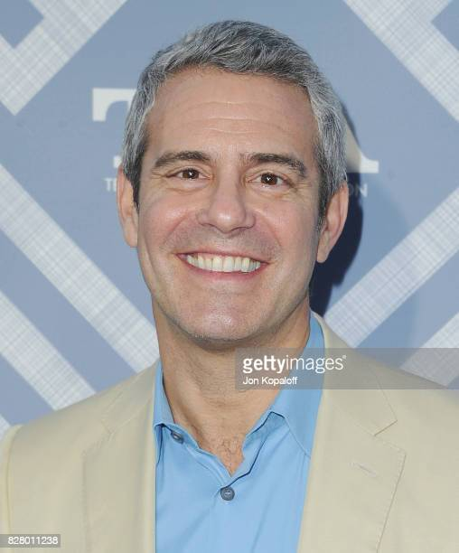 Andy Cohen arrives at the 2017 Fox Summer TCA Tour at the Soho House on August 8 2017 in West Hollywood California