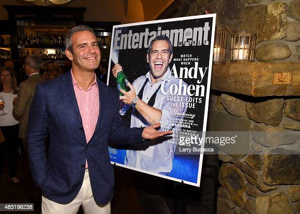 Entertainment Weekly Celebrates Guest Editor Andy Cohen ...