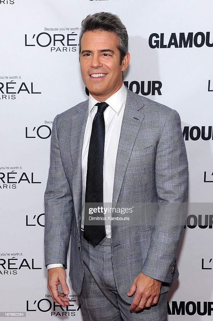 <a gi-track='captionPersonalityLinkClicked' href=/galleries/search?phrase=Andy+Cohen+-+Television+Personality&family=editorial&specificpeople=7879180 ng-click='$event.stopPropagation()'>Andy Cohen</a> attends Glamour's 23rd annual Women of the Year awards on November 11, 2013 in New York City.