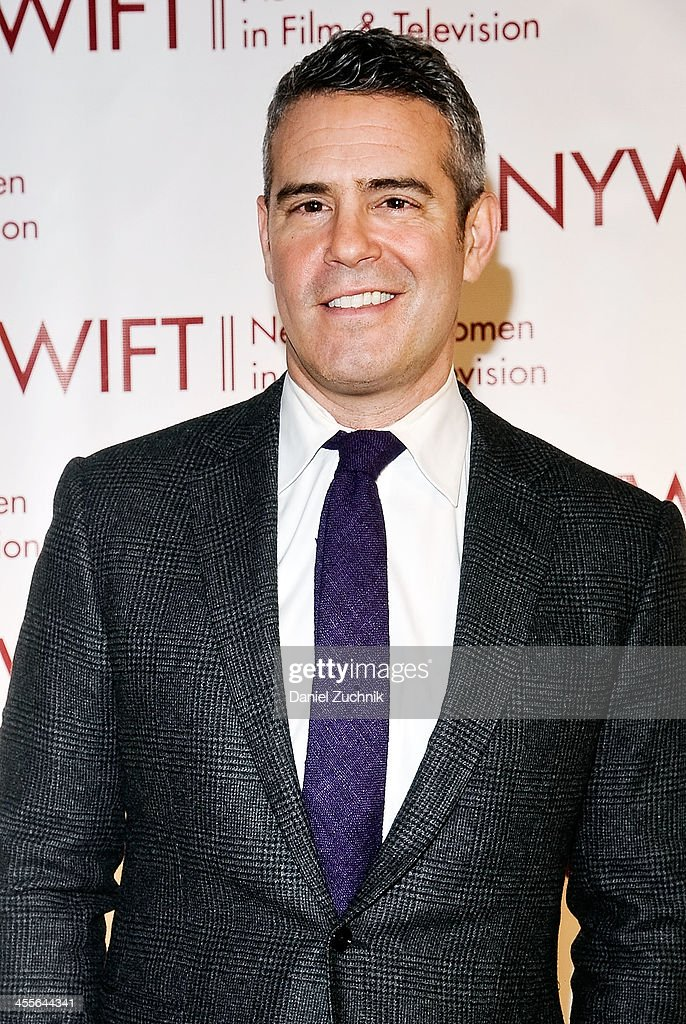 <a gi-track='captionPersonalityLinkClicked' href=/galleries/search?phrase=Andy+Cohen+-+Television+Personality&family=editorial&specificpeople=7879180 ng-click='$event.stopPropagation()'>Andy Cohen</a> attends New York Women In Film And Television's 33rd Annual Muse Awards at New York Hilton on December 12, 2013 in New York City.