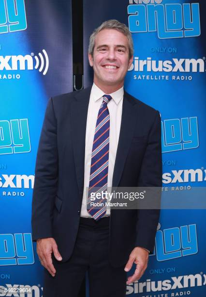 Andy Cohen attends SiriusXM Host Bevy Smith Hosts A Radio Special Celebrating The Anniversary Of Andy Cohen's SiriusXM Channel Radio Andy at...