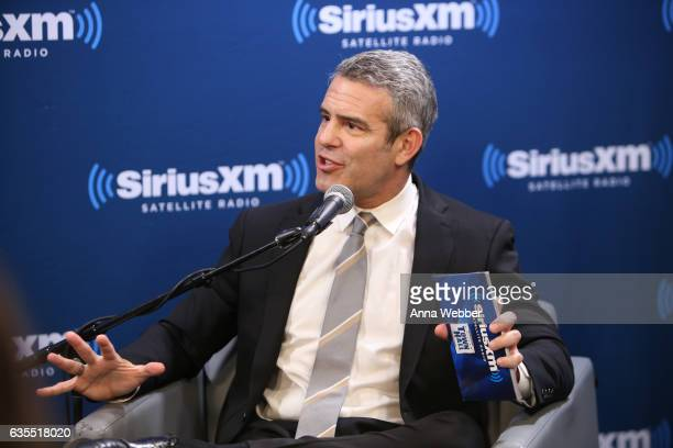 Andy Cohen attends SiriusXM's 'Town Hall' With Ricky Martin 'Town Hall' To Air On Andy Cohen's Exclusive SiriusXM Channel Radio Andy on February 15...