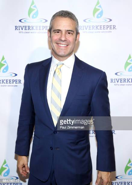Andy Cohen attends the 2017 Riverkeeper Fishermen's Ball at Pier Sixty at Chelsea Piers on May 17 2017 in New York City