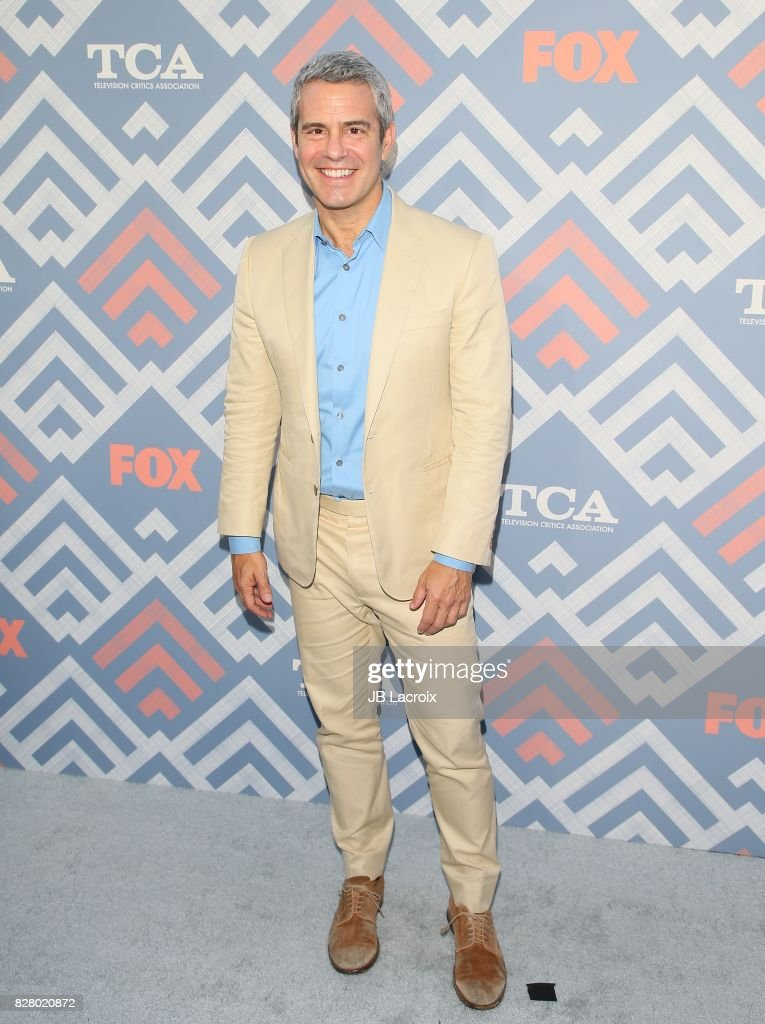 Andy Cohen attends the 2017 Summer TCA Tour 'Fox' on August 08, 2017 in Los Angeles, California.