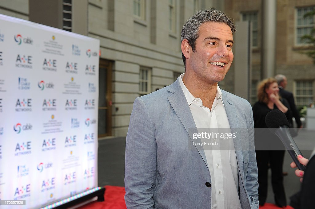 <a gi-track='captionPersonalityLinkClicked' href=/galleries/search?phrase=Andy+Cohen+-+Television+Personality&family=editorial&specificpeople=7879180 ng-click='$event.stopPropagation()'>Andy Cohen</a> attends the A+E hosted NCTA Chairman's Reception at the Smithsonian American Art Museum & National Portrait Gallery on June 11, 2013 in Washington, DC.