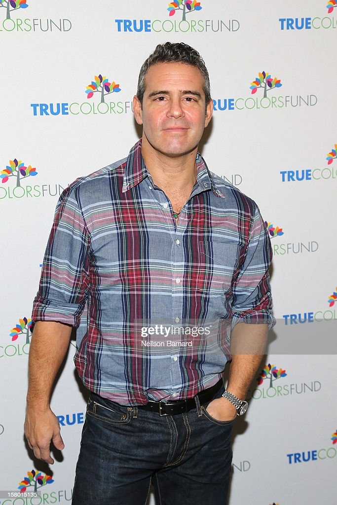 <a gi-track='captionPersonalityLinkClicked' href=/galleries/search?phrase=Andy+Cohen+-+Television+Personality&family=editorial&specificpeople=7879180 ng-click='$event.stopPropagation()'>Andy Cohen</a> attends the Cyndi Lauper and Friends: Home For The Holiday's Concert at The Beacon Theatre on December 8, 2012 in New York City.