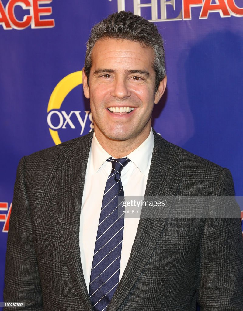 Andy Cohen attends 'The Face' Series Premiere at Marquee New York on February 5, 2013 in New York City.