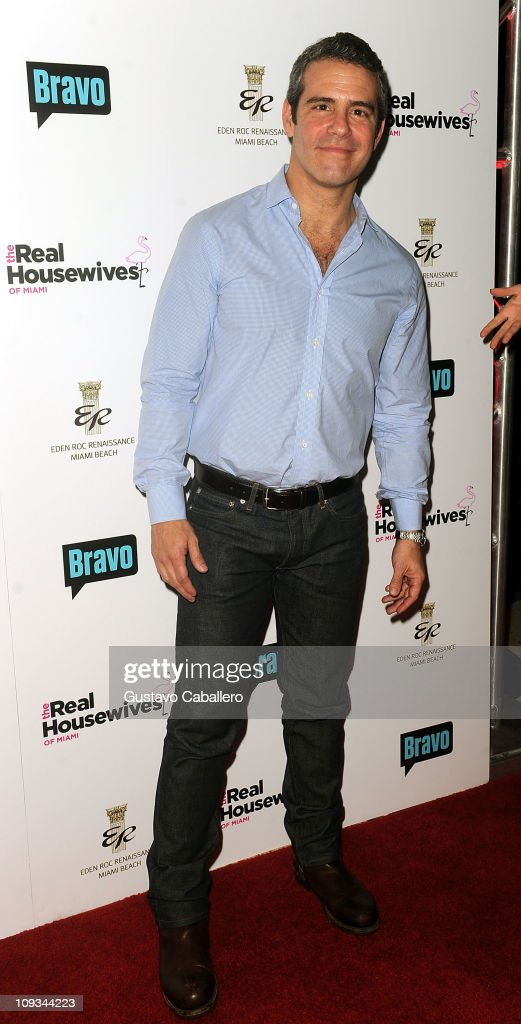 <a gi-track='captionPersonalityLinkClicked' href=/galleries/search?phrase=Andy+Cohen+-+Television+Personality&family=editorial&specificpeople=7879180 ng-click='$event.stopPropagation()'>Andy Cohen</a> attends The Real Housewives of Miami Premiere Party at Eden Roc, a Renaissance Beach Resort and Spa on February 21, 2011 in Miami Beach, Florida.