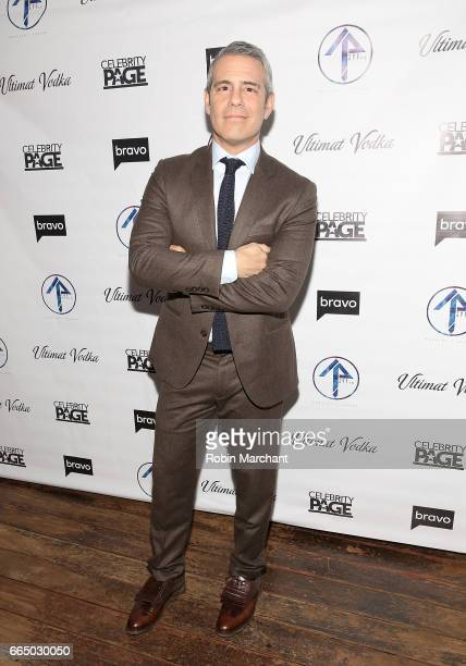 Andy Cohen attends 'The Real Housewives Of New York City' Season 9 Premiere Party at The Attic Rooftop Lounge on April 5 2017 in New York City