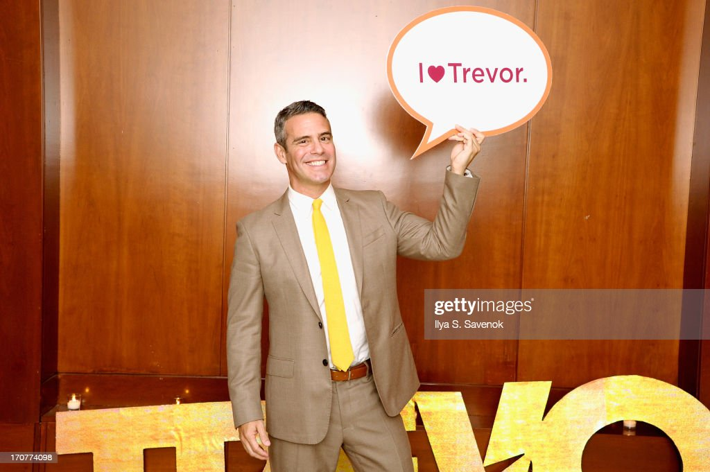 <a gi-track='captionPersonalityLinkClicked' href=/galleries/search?phrase=Andy+Cohen+-+Television+Personality&family=editorial&specificpeople=7879180 ng-click='$event.stopPropagation()'>Andy Cohen</a> attends The Trevor Project's 2013 'TrevorLIVE' Event Honoring Cindy Hensley McCain at Chelsea Piers on June 17, 2013 in New York City.