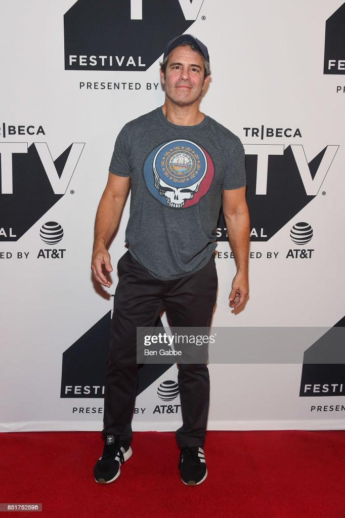 Andy Cohen attends the Tribeca TV Festival series premiere of At Home with Amy Sedaris at Cinepolis Chelsea on September 22, 2017 in New York City.
