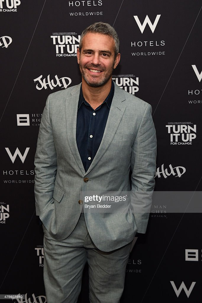 "W Hotels, HRC And Andy Cohen At TURN IT UP FOR CHANGE Panel Discussion And Screening Of Jennifer Hudson's ""I Still Love You"" Music Video"