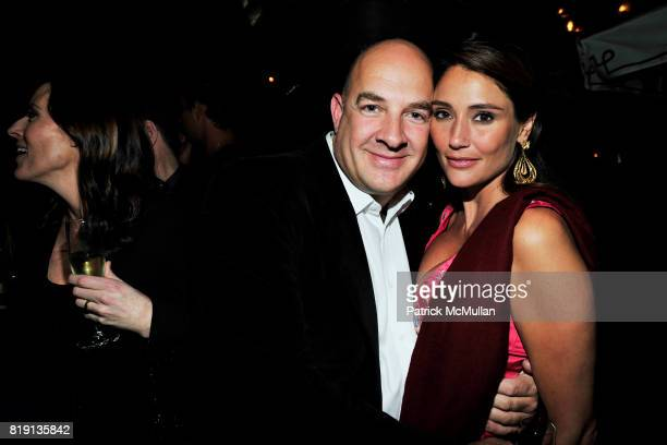 Andy Cohen Brenda Schad attend NICOLAS BERGGRUEN's 2010 Annual Party at the Chateau Marmont on March 3 2010 in West Hollywood California