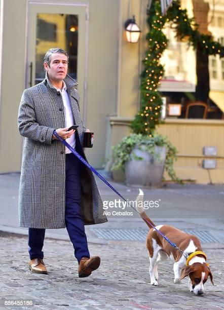 Andy Cohen is seen in the West Village on December 5 2017 in New York City