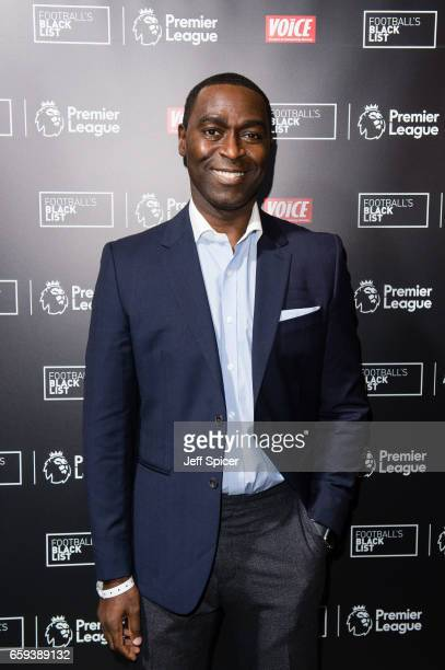 Andy Cole attends the Football Black List 2016 at Village Underground on March 28 2017 in London England