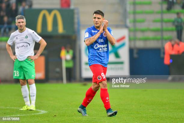 Andy DELORT Caen / Saint Etienne Ligue 1 9e journee Photo Dave Winter / Icon Sport