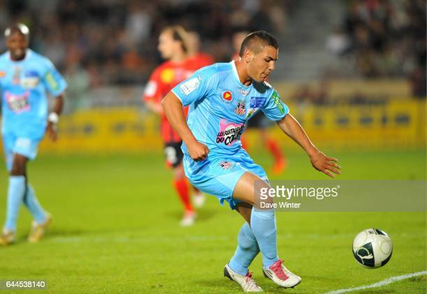 Andy DELORT Boulogne / Ajaccio 34eme journee de Ligue 2 Photo Dave Winter / Icon Sport