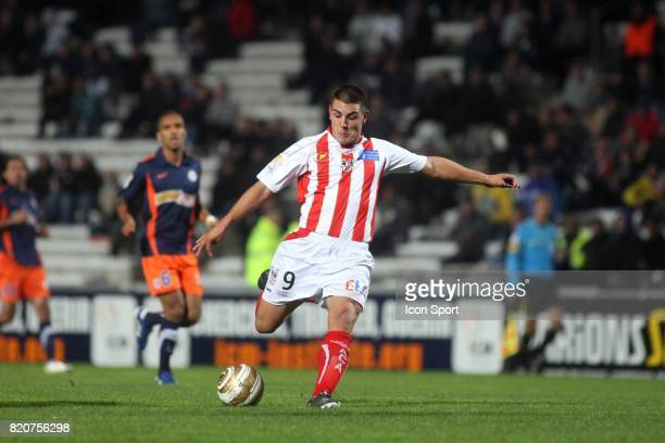 Andy DELORT Montpellier / AC Ajaccio Huitiemes de finale de la Coupe de la Ligue