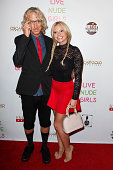 Andy Dick and Bree Olson attend the 'Live Nude Girls' premiere at Avalon on August 12 2014 in Hollywood California