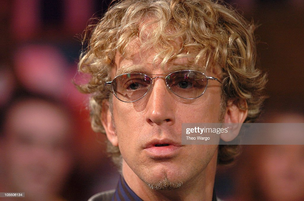 Andy Dick during Ashanti, FeFe Dobson and Andy Dick Visit MTV's 'TRL' - July 12, 2004 at MTV Studios, Times Square in New York City, New York, United States.