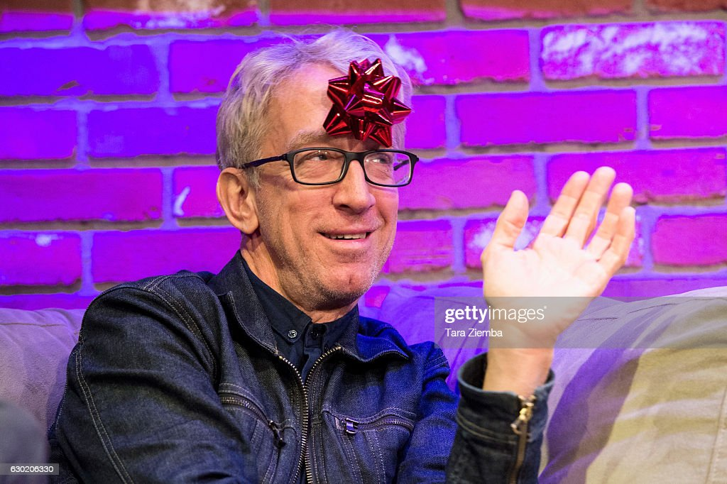 Andy Dick performs during 'The Night Time Show Christmas Special' with Stephen Kramer Glickman at Hollywood Improv on December 17, 2016 in Hollywood, California.