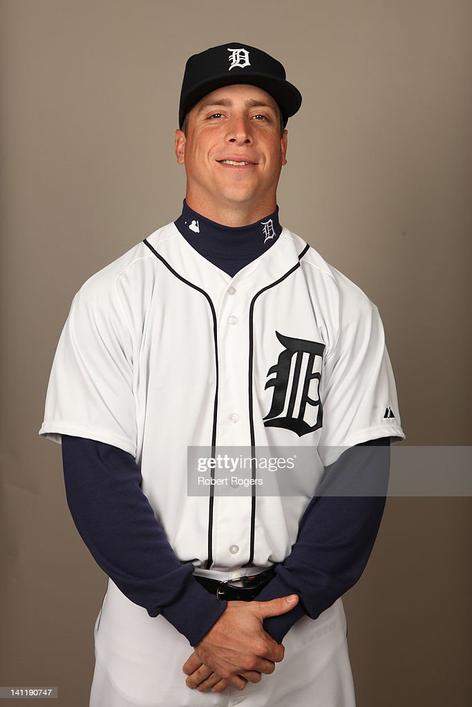 <a gi-track='captionPersonalityLinkClicked' href=/galleries/search?phrase=Andy+Dirks&family=editorial&specificpeople=7511216 ng-click='$event.stopPropagation()'>Andy Dirks</a> (12) of the Detroit Tigers poses during Photo Day on Tuesday, February 28, 2012 at Joker Marchant Stadium in Lakeland, Florida.