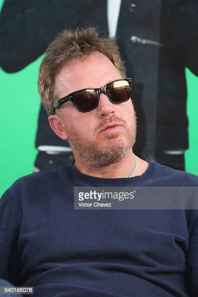 Andy Dunlop of british band Travis attends a press conference at Universal Music on June 14 2016 in Mexico City Mexico