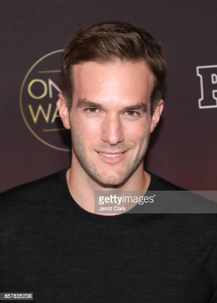 Andy Favreau attends People's 'Ones To Watch' at NeueHouse Hollywood on October 4 2017 in Los Angeles California