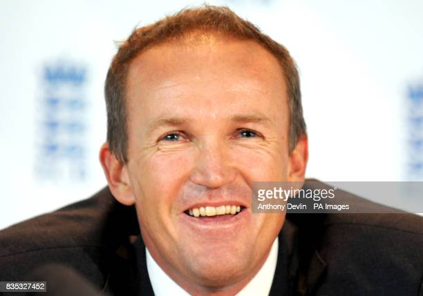 Andy Flower is named as the new England Team Director at Lord's Cricket Ground London