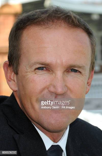 Andy Flower is named as the new England Team Director during a press conference at Lord's Cricket Ground London