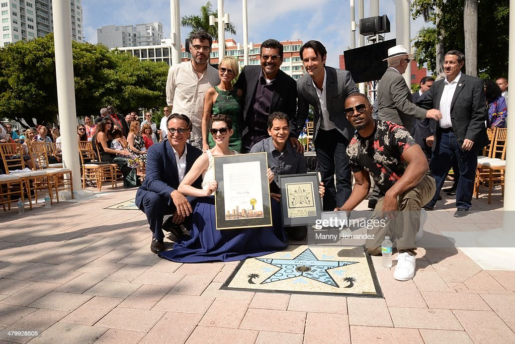 Miami Walk Of Fame Inauguration