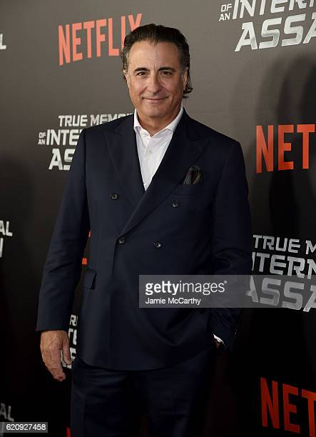 Andy Garcia attends 'True Memoirs Of An International Assassin' at AMC Lincoln Square Theater on November 3 2016 in New York City