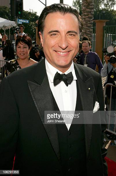 Andy Garcia during 2006 NCLR ALMA Awards Red Carpet at Shrine Auditorium in Los Angeles California United States
