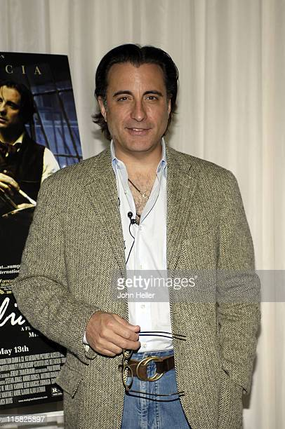Andy Garcia during Hollywood's Master Storytellers Presents 'Modigliani' at ArcLight Cinemas at ArcLight Cinemas in Hollywood United States