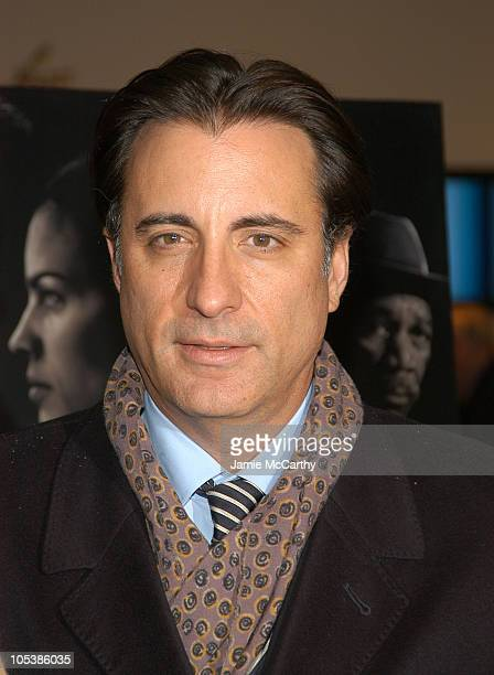 Andy Garcia during 'Million Dollar Baby' New York City Premiere Arrivals at Museum Of Modern Art in New York City New York United States