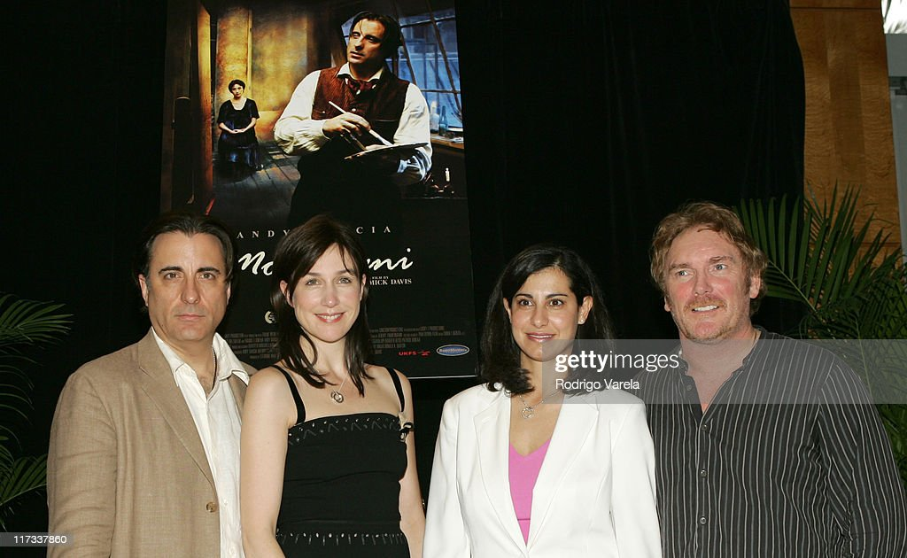 <a gi-track='captionPersonalityLinkClicked' href=/galleries/search?phrase=Andy+Garcia&family=editorial&specificpeople=156410 ng-click='$event.stopPropagation()'>Andy Garcia</a>, <a gi-track='captionPersonalityLinkClicked' href=/galleries/search?phrase=Elsa+Zylberstein&family=editorial&specificpeople=213054 ng-click='$event.stopPropagation()'>Elsa Zylberstein</a>, Karinne Behr and <a gi-track='captionPersonalityLinkClicked' href=/galleries/search?phrase=Mick+Davis&family=editorial&specificpeople=240575 ng-click='$event.stopPropagation()'>Mick Davis</a>