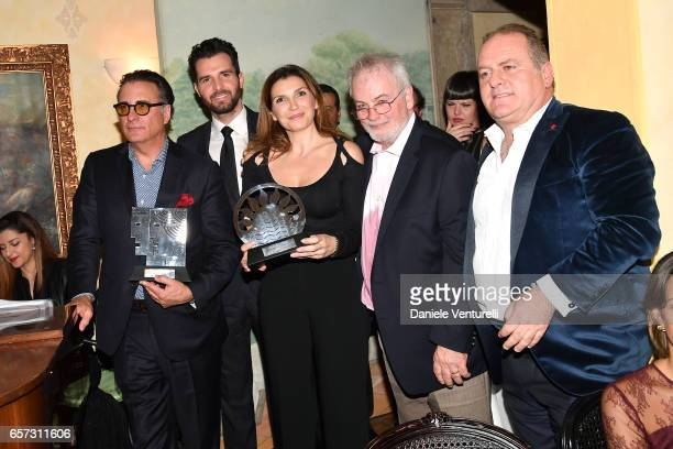 Andy Garcia producer Andrea Iervolino Maria Pia Calzone Bobby Moresco and Pascal Vicedomini attend AMBI GALA In Honour Of Andy Garcia And Bobby...