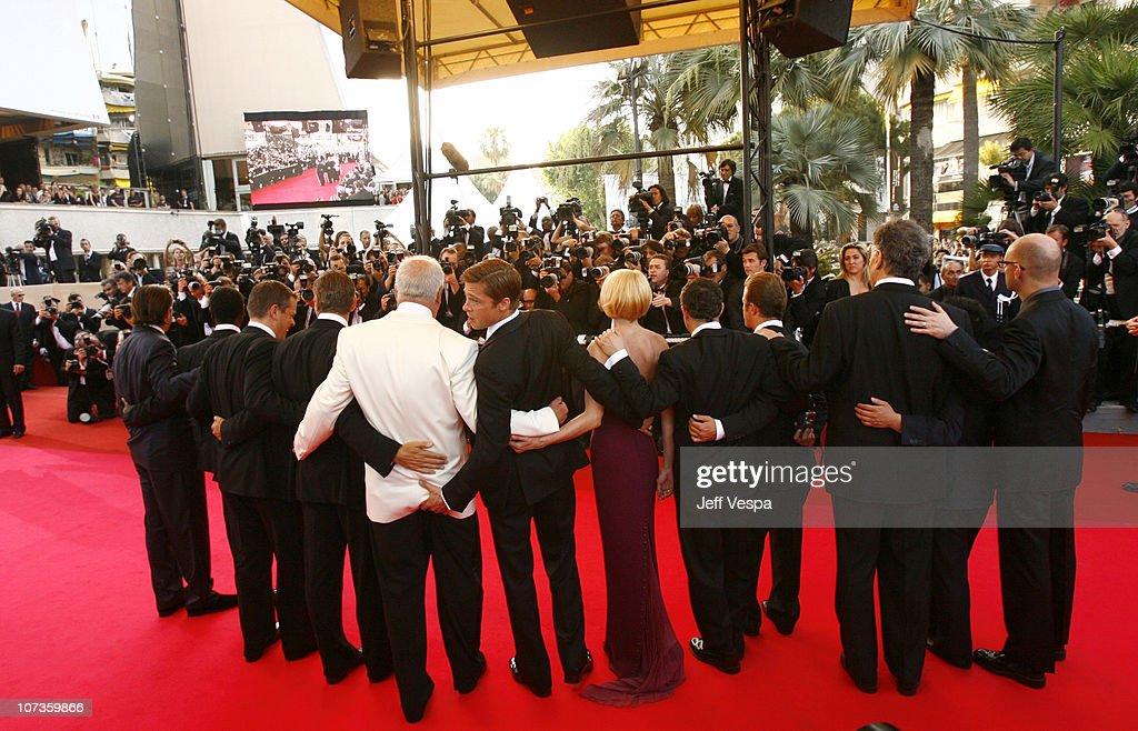 Andy Garcia producer Jerry Weintraub Don Cheadle Matt Damon George Clooney Brad Pitt Eddie Jemison Ellen Barkin Scott Caan Elliott Gould Shaobo Qin...