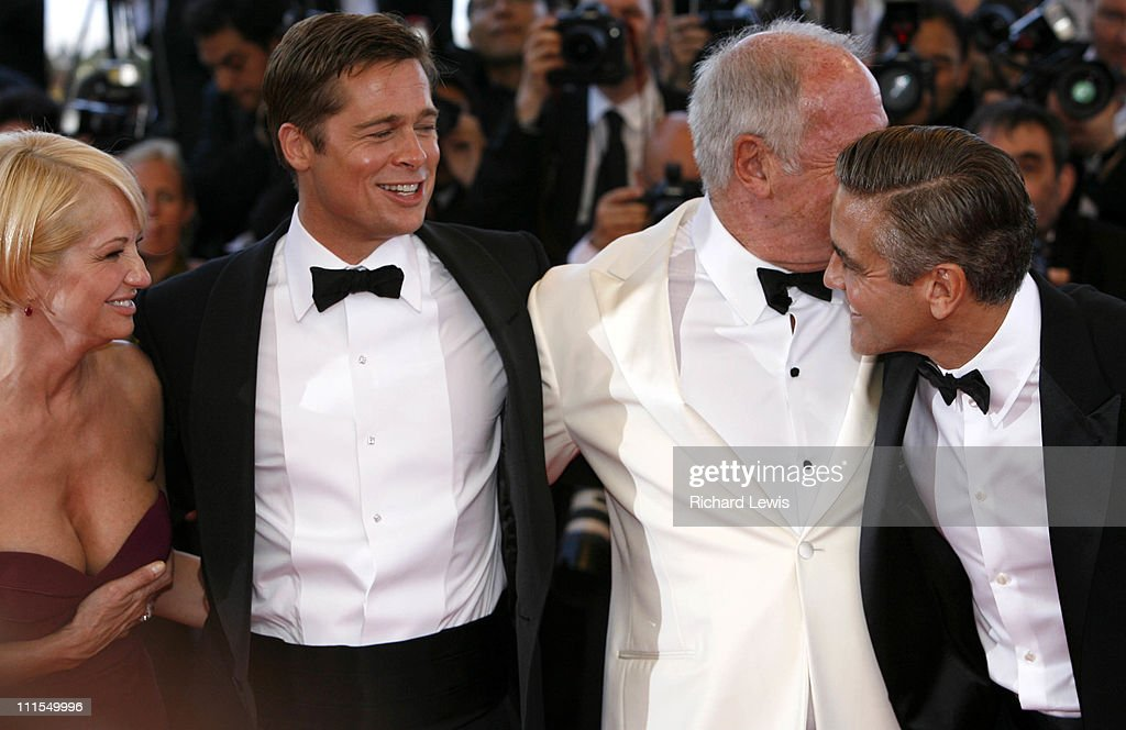 Andy Garcia, Scott Caan, Brad Pitt, Jerry Weintraub and George Clooney