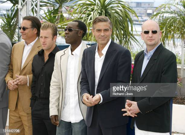 Andy Garcia Scott Caan Don Cheadle George Clooney and Steven Soderbergh